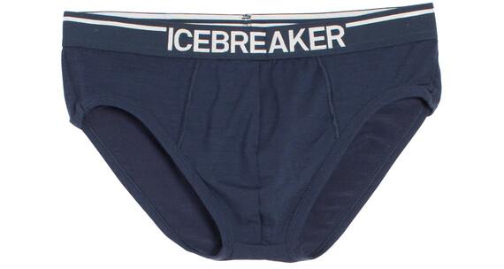 Icebreaker Anatomica merino ondergoed Heren blauw